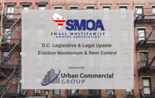 D.C. Legislative & Legal Update Eviction Moratorium & Rent Control