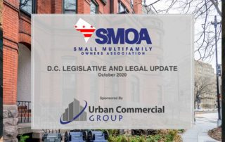 D.C. Legislative and Legal Update - October 2020